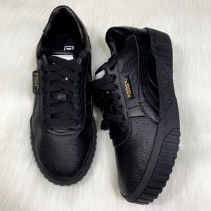 Women Puma Cali All Black Flatform